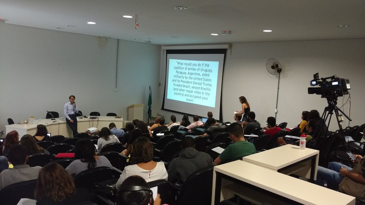 Civil Resistance Studies: Driving Ideas, Findings, Cases and Research, ICNC Acadmic Seminar, 2016, University of Brasilia, Brazil University of Brasilia